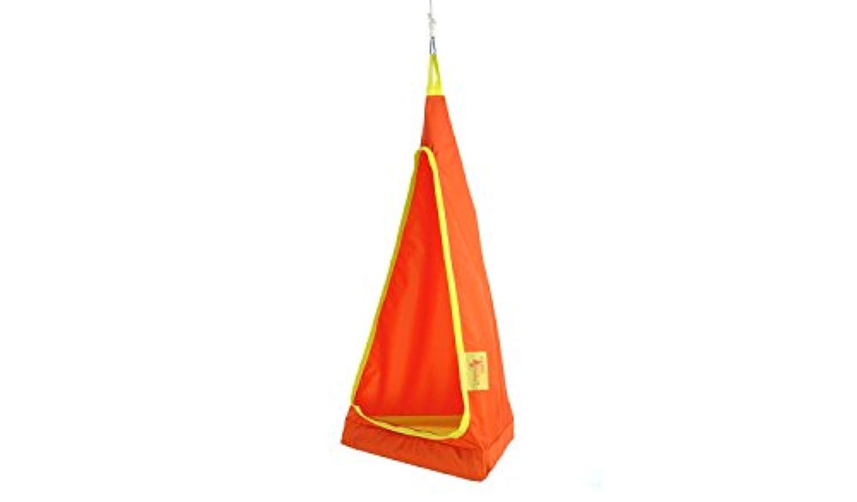 FieldCandy hang-aboutジュニアインドア/アウトドアキッズHanging Chairs (さまざまな色) オレンジ HA.OY.J