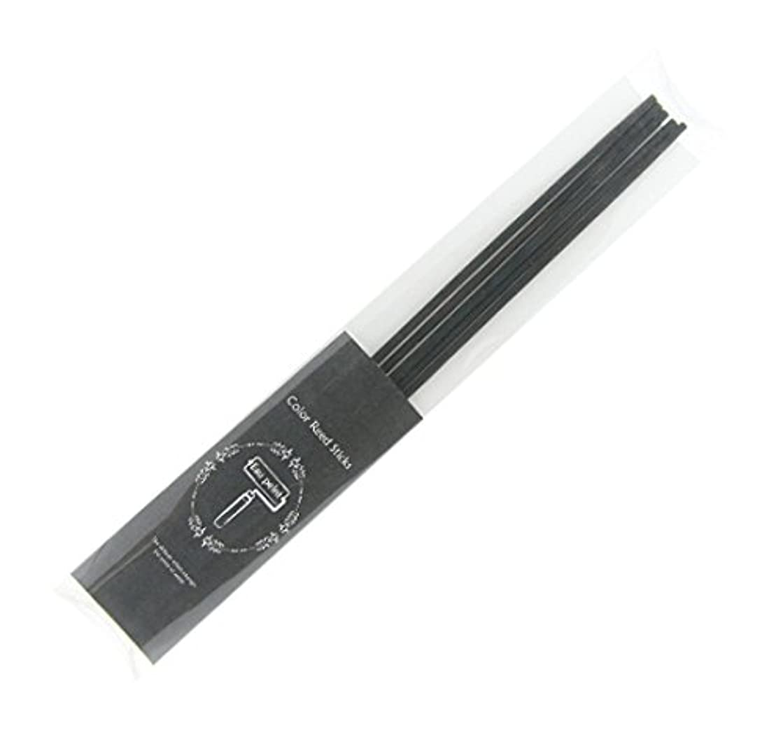 スリップパケットセレナEau peint mais+ カラースティック リードディフューザー用スティック 5本入 ブラック Black オーペイント マイス