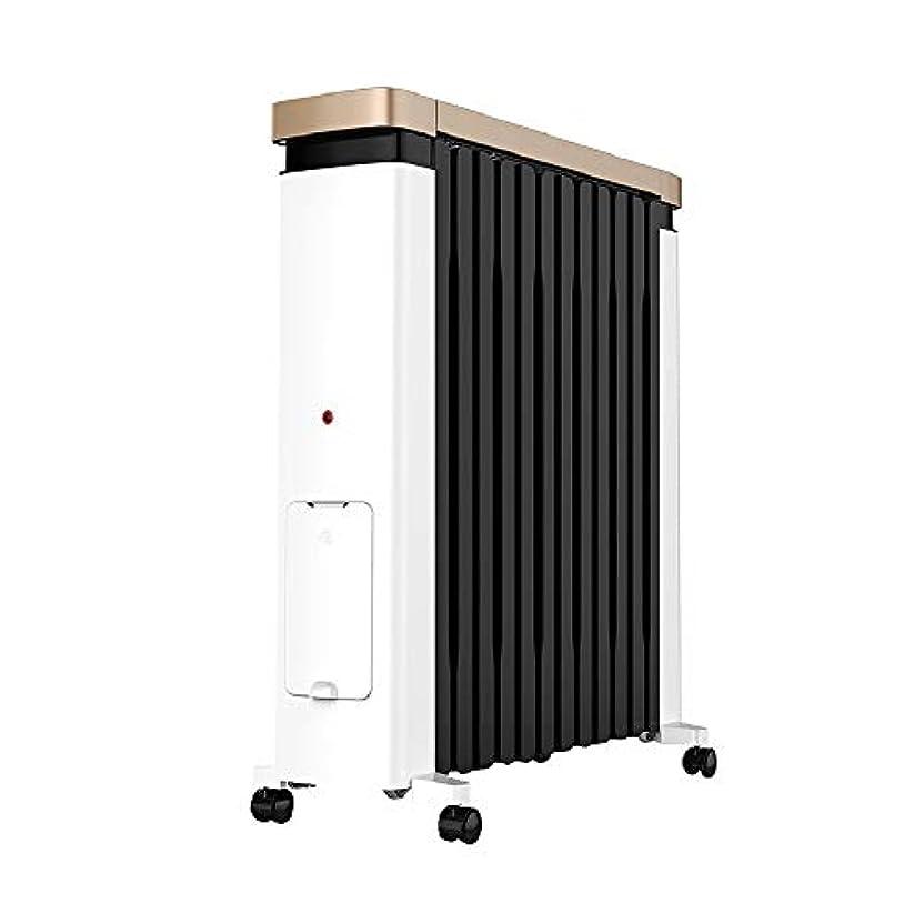 サーバント代表する公然とYI GAO ヒーター、空間ヒーター電動オイルヒーター内蔵加湿ボックス、2200Wヒートシンクを広げ @ (Size : 2200W)