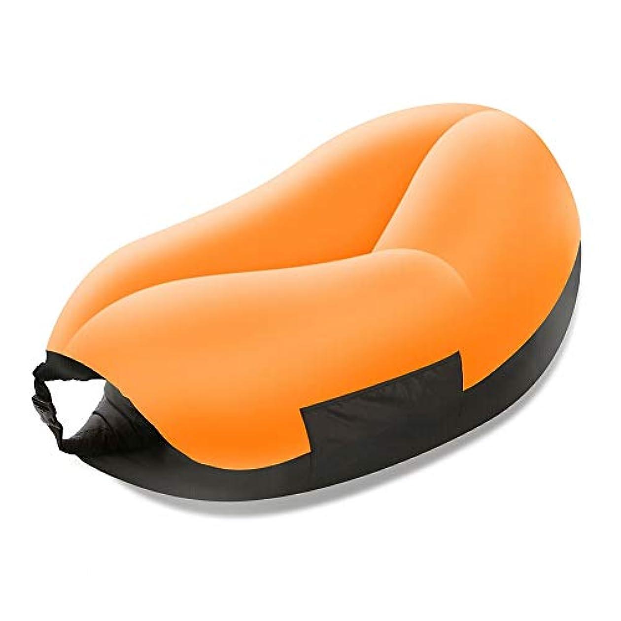 圧縮する低下冗長膨脹可能なソファー、怠惰なソファの屋外の携帯用寝袋の折り畳み式の空気ソファーベッド