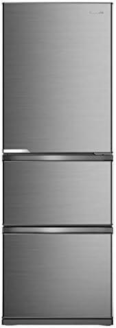 ハイセンス 冷凍冷蔵庫(幅59.9cm) 360L 自動霜取機能付き 3ドア 右開き シルバー 2020年モデル HR-D3601S