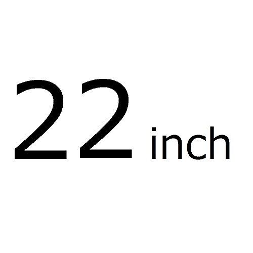Oche 透明 スーツケースカバー 携帯 キャリー バッグ かばん ラゲッジ クリア ビニール カバー 雨 防水 (22インチ)