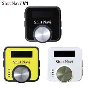【エンタメ変化球ボール付セット】GPSナビ ショットナビ V1(Shot Navi V1) (ホワイト)