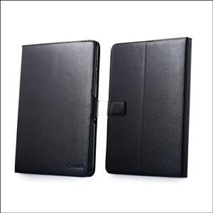 CAPDASE 日本正規品 docomo GALAXY Tab 10.1 LTE SC-01D / SAMSUNG GT-P7510 専用 Protective Case Flip Jacket, Black 3段階スタンド機能つき ブックタイプ レザー調ケース 「フリップ・ジャケット」 ブラック SLSGP7510-PU01