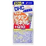 【DHC】マルチビタミン/ミネラル+Q10 20日分 (100粒) ×20個セット