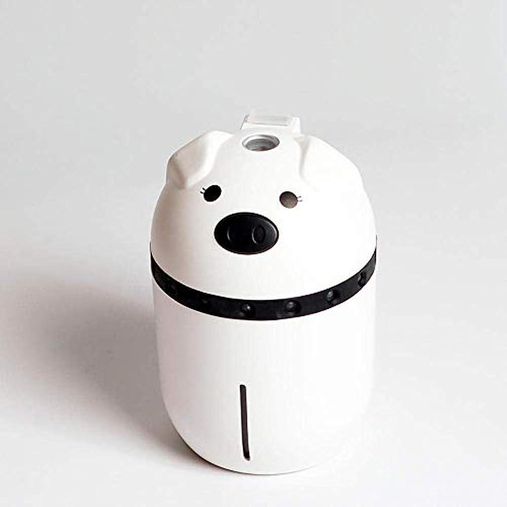 節約するクルー有用SOTCE アロマディフューザー加湿器超音波霧化技術が内蔵水位センサーエッセンシャルオイル満足のいく解決策 (Color : White)