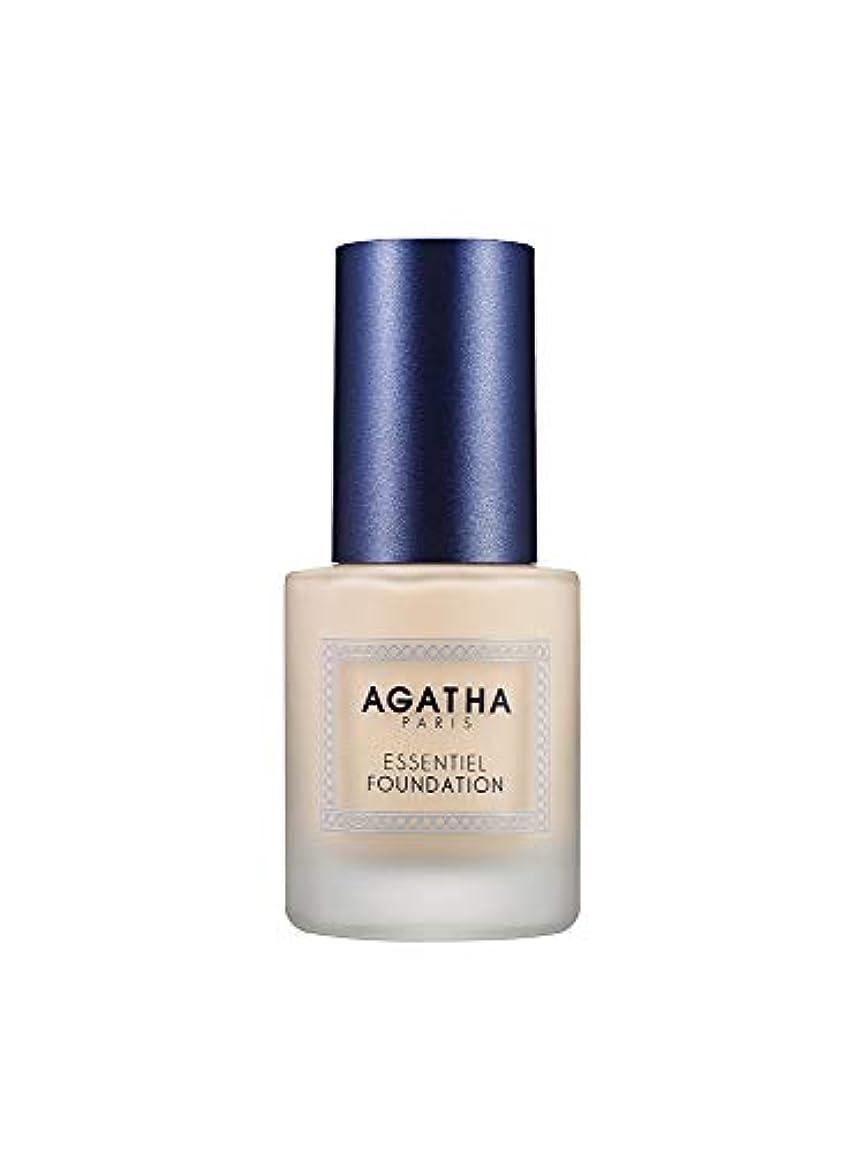 役に立つ実質的に符号AGATHA(アガタ) エサンシエル ファンデーション SPF35 / PA++ 30g (21号 ライト)