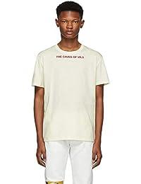 (ラフ シモンズ) Raf Simons メンズ トップス Tシャツ White 'The Caves Of VR.5' Slim Fit T-Shirt [並行輸入品]
