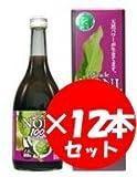 沖縄仲善 ミラクルノニジュース100% 720ml 12本セット