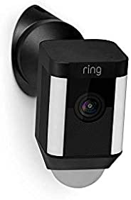 Wall Mount for Ring Spotlight Cam Wired - Black