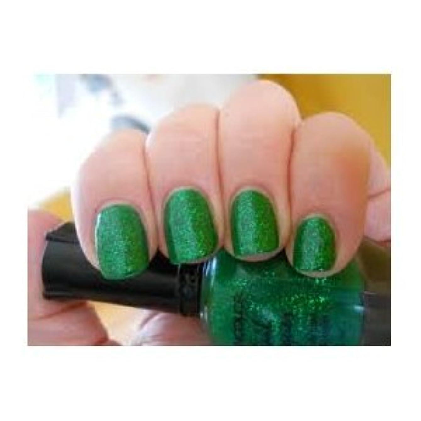 超えて見捨てられた論争的KLEANCOLOR Nail Lacquer 2 - Green Grass (並行輸入品)