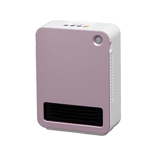 アイリスオーヤマ セラミックファンヒーター 人感センサー付き ピンク JCH-12D-P -