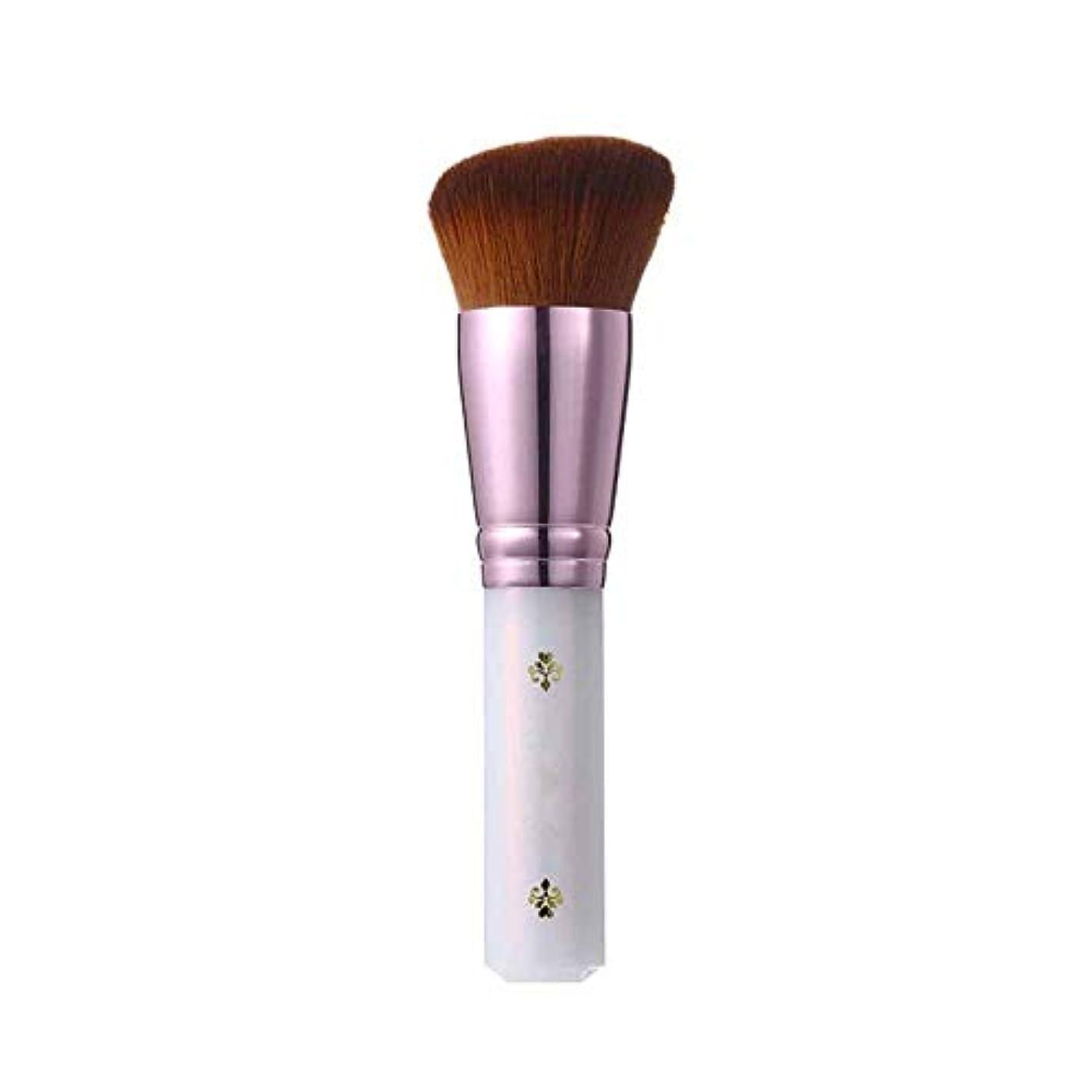 看板ドラムするJinfengtongxun 化粧ブラシ、扇形の化粧ブラシ、柔らかいルースパウダーブラシ、さまざまなスタイル,美しい包装 (Color : White, Style : 5)