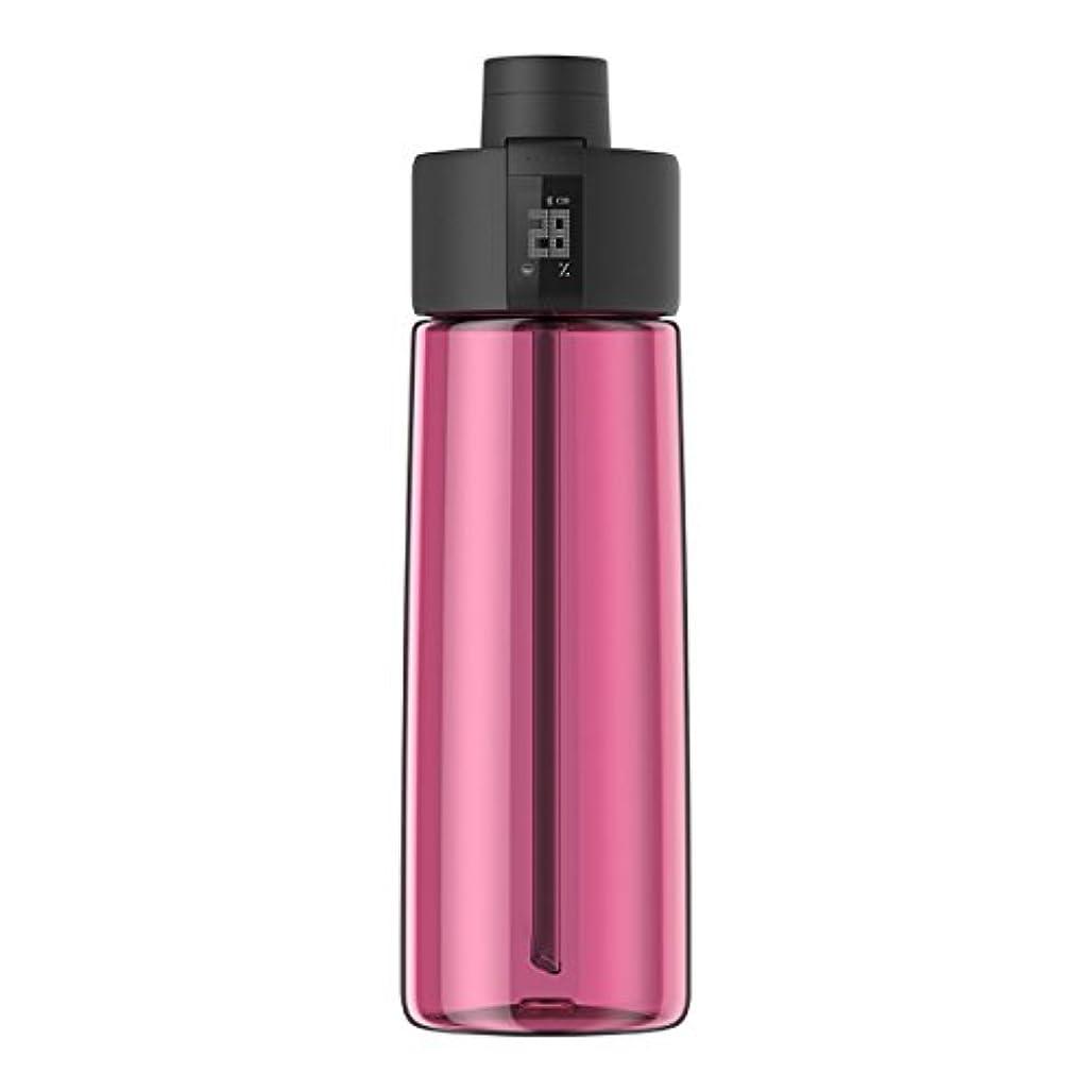から聞く見習いくつろぐTechcomm bocombiスマートウォーターボトルZephair Hydrationトラッキング、アラームスマートストローテクノロジーと水和のホットとコールドnon-carbonated Drinks