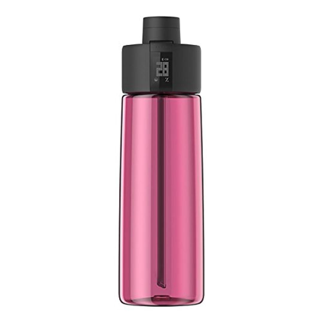 特権的ブラシアイザックTechcomm bocombiスマートウォーターボトルZephair Hydrationトラッキング、アラームスマートストローテクノロジーと水和のホットとコールドnon-carbonated Drinks