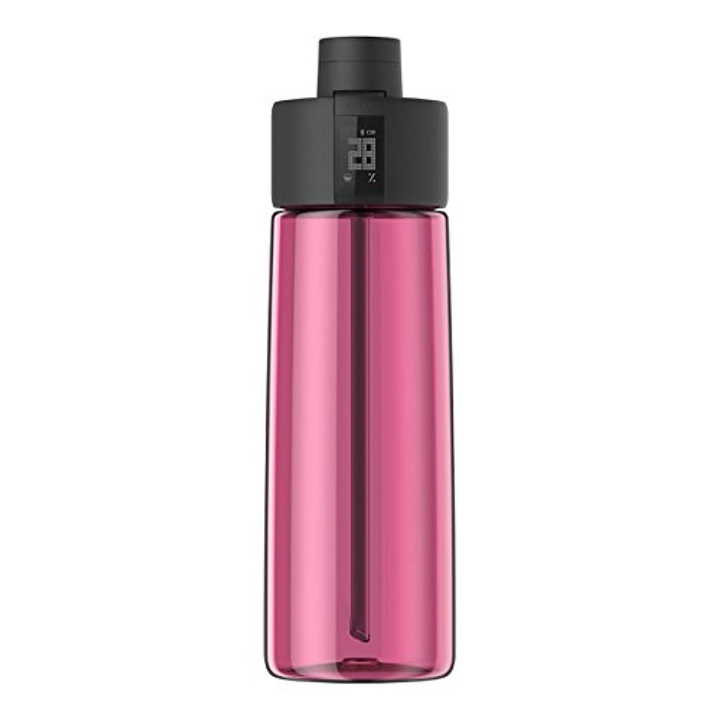 セーブなめるまもなくTechcomm bocombiスマートウォーターボトルZephair Hydrationトラッキング、アラームスマートストローテクノロジーと水和のホットとコールドnon-carbonated Drinks