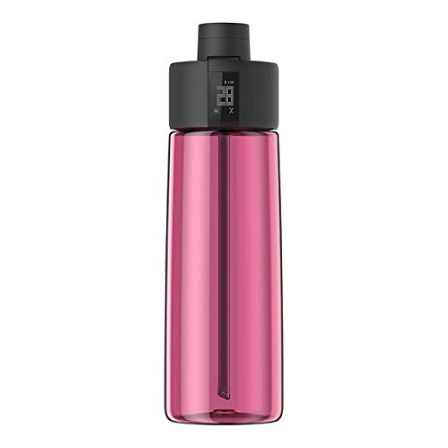 これら全部削減Techcomm bocombiスマートウォーターボトルZephair Hydrationトラッキング、アラームスマートストローテクノロジーと水和のホットとコールドnon-carbonated Drinks