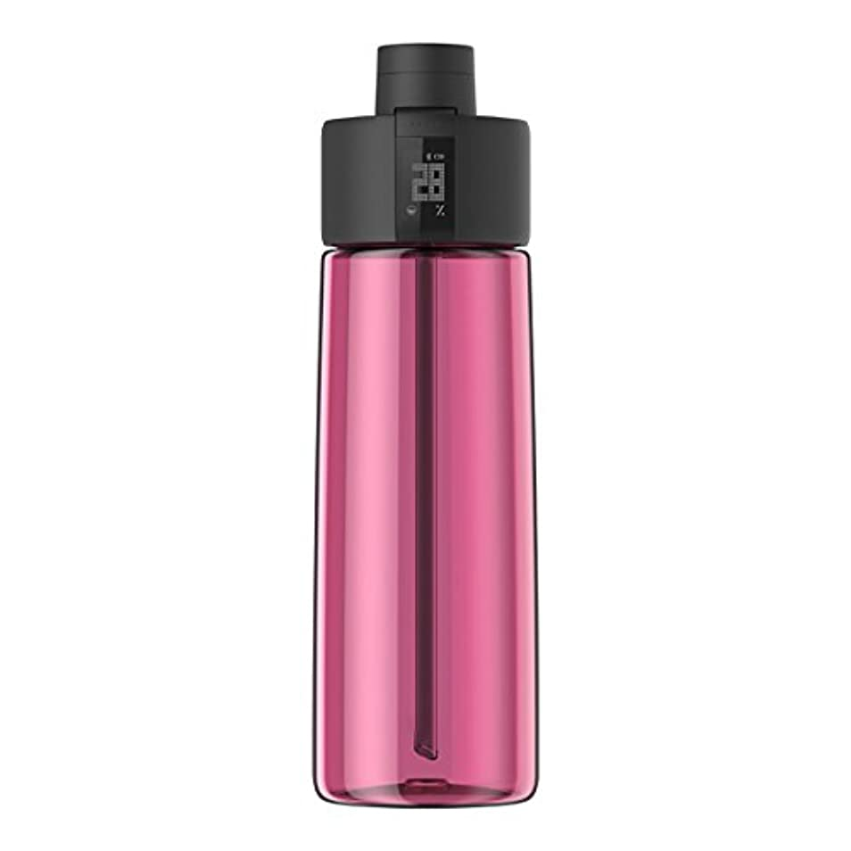 地域大人チューリップTechcomm bocombiスマートウォーターボトルZephair Hydrationトラッキング、アラームスマートストローテクノロジーと水和のホットとコールドnon-carbonated Drinks