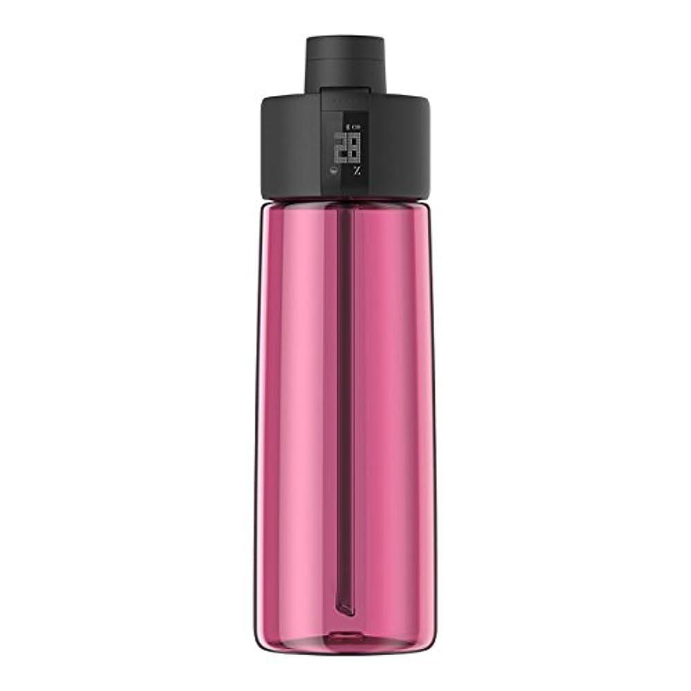 ローストランダム胸Techcomm bocombiスマートウォーターボトルZephair Hydrationトラッキング、アラームスマートストローテクノロジーと水和のホットとコールドnon-carbonated Drinks
