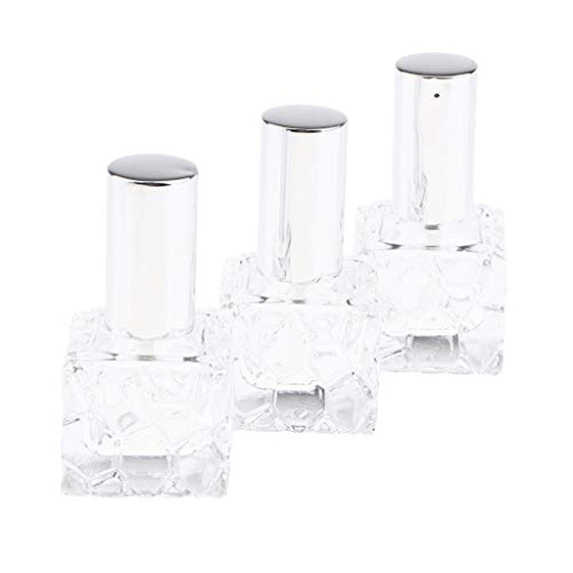 費用印象派民主党CUTICATE 香水瓶 スプレー ガラス スプレー容器 スプレーボトル 香水小分け アロマ保存容器 2種選択でき - 10ml 3個