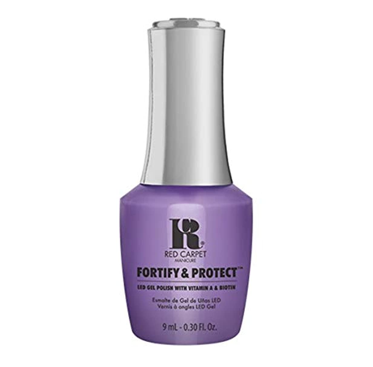 緩める浸したエンコミウムRed Carpet Manicure - Fortify & Protect - Blockbuster Babe - 9ml / 0.30oz