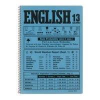 マルマン スパイラルノート B5 英語ノート 英習字罫13段 (グリーン) N524-03 / 10セット