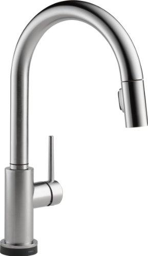 RoomClip商品情報 - DELTA(デルタ)水栓 トリンシック キッチン用タッチタイプ水栓 9159T-AR-DST