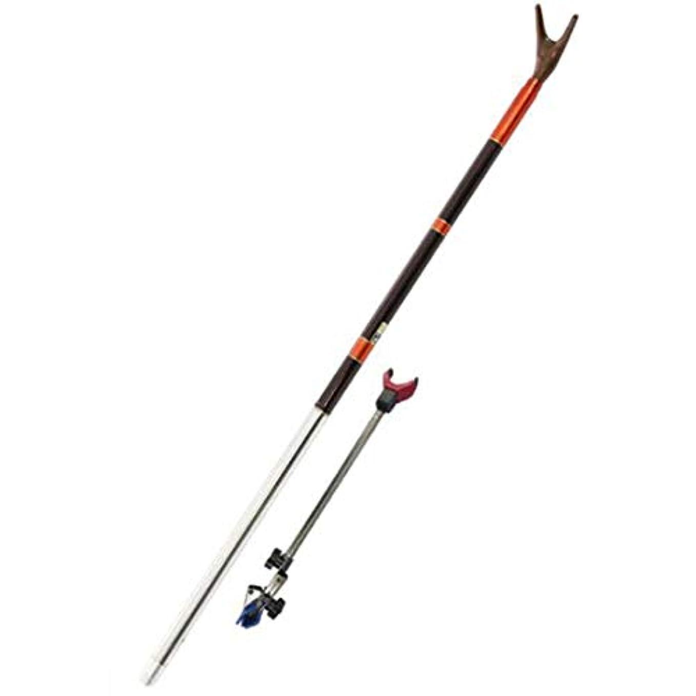 数メルボルンパンチ人民の東の道 釣りスタンド釣り装置池のウォーターフロントのための引き込み式のテーブルカーボン釣り竿サポートの短い3つのセクション。 (サイズ : 270cm)