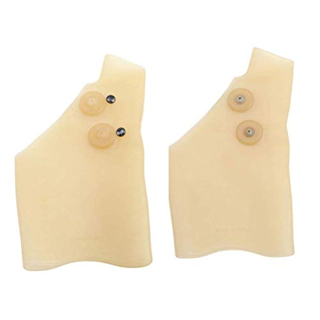 予見するサイト修復腱鞘炎痛みを軽減する男性の女性のための防水1ペア弾性シリコーンゲル手首のサポートブレースジェル手首ブレース手根管手首のブレース