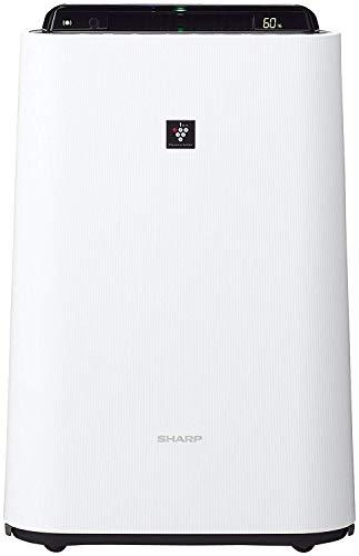 シャープ 加湿 空気清浄機 プラズマクラスター 7000 スタンダード 13畳   空気清浄 23畳 花粉 ホワイト KC-H50-W