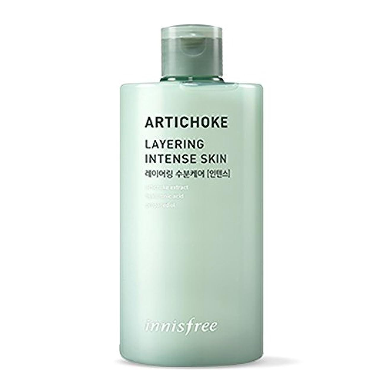 レイアシーボードクックイニスフリーアーティチョークレイヤーインテンセスキン(トナー)400ml Innisfree Artichoke Layering Intense Skin (Toner) 400ml [海外直送品] [並行輸入品]