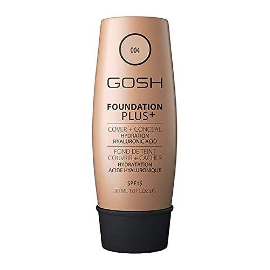 農場狂気隠す[GOSH ] おやっ基盤プラス+ナチュラル004 - Gosh Foundation Plus+ Natural 004 [並行輸入品]
