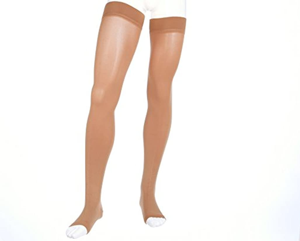 こしょうピストン供給Mediven Forte 40-50 mmHg Open Toe Thigh Highs w/ Silicone Top Band Size: Size III (3) Standard - 38403 by Mediven