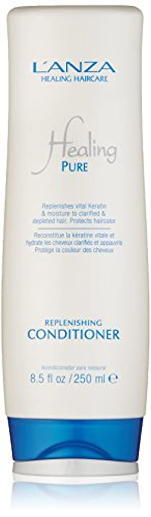 水留め金石灰岩Healing Pure by L'Anza Replenishing Conditioner 250ml by L'anza