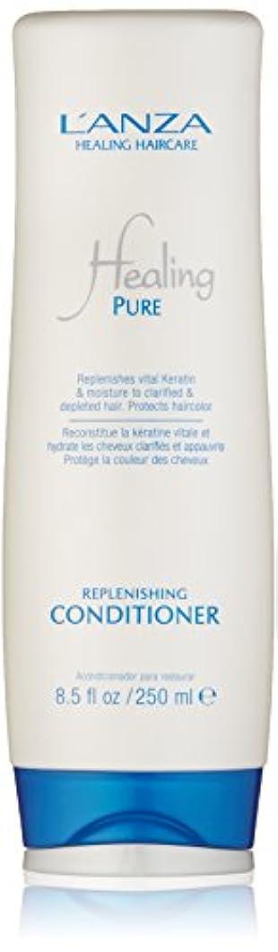 サスペンド前解明Healing Pure by L'Anza Replenishing Conditioner 250ml by L'anza