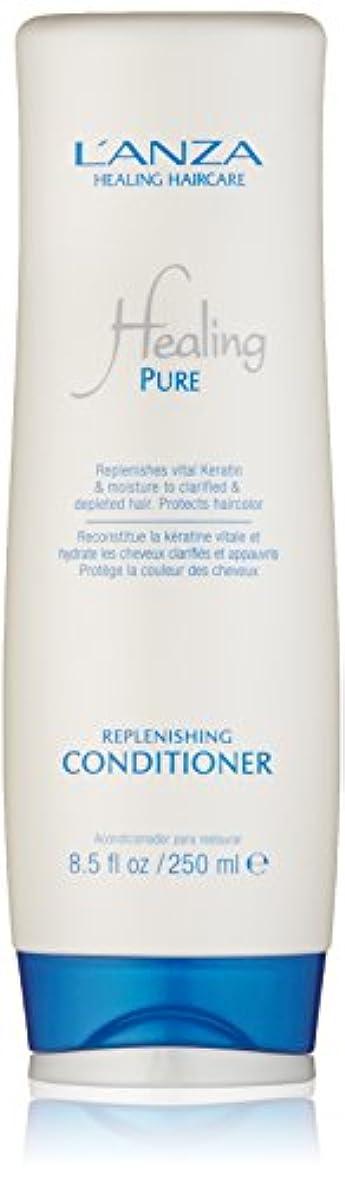 謝罪する代数的習慣Healing Pure by L'Anza Replenishing Conditioner 250ml by L'anza