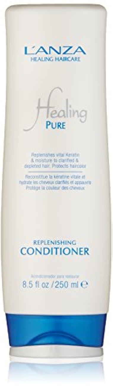常習者厚さ吸収Healing Pure by L'Anza Replenishing Conditioner 250ml by L'anza