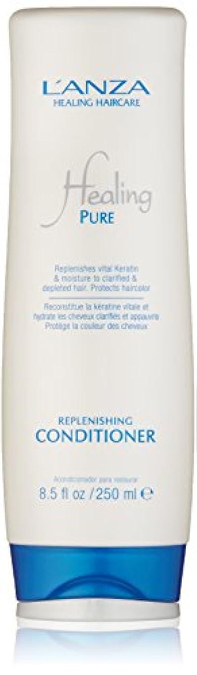 誓うマイナスフレアHealing Pure by L'Anza Replenishing Conditioner 250ml by L'anza