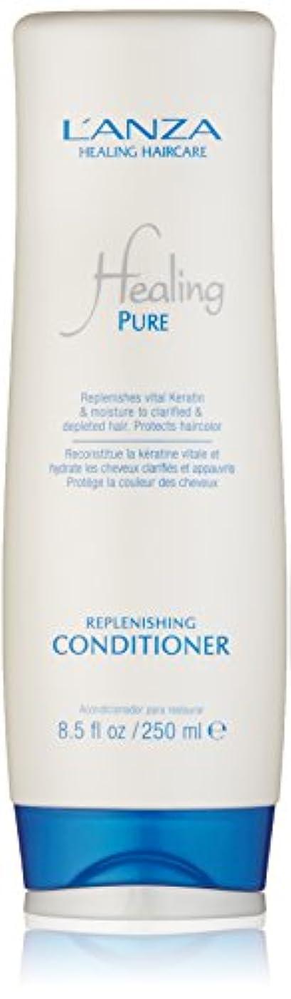 あえぎ余裕がある観点Healing Pure by L'Anza Replenishing Conditioner 250ml by L'anza