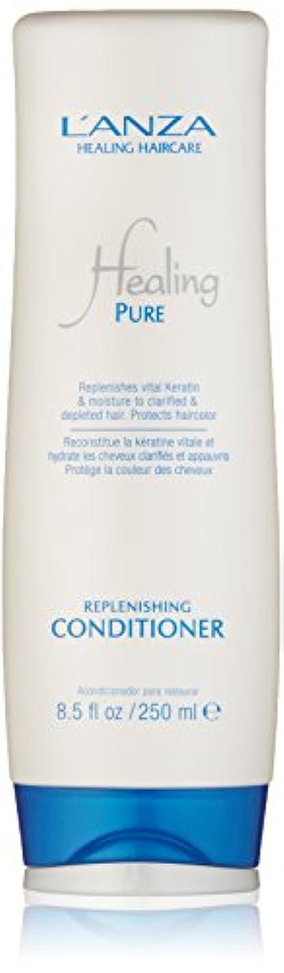 哲学者書き込みスピンHealing Pure by L'Anza Replenishing Conditioner 250ml by L'anza