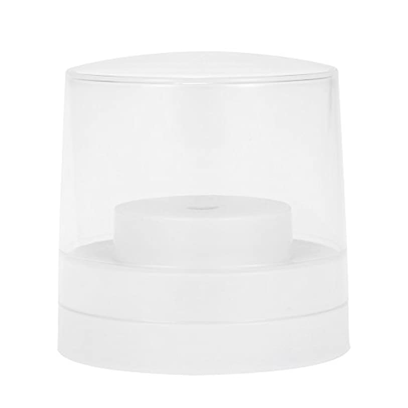 アナニバー開始別々にDecdeal ネイルドリルビットホルダー 60穴 歯科用 バースタンド ディスプレイ オーガナイザー コンテナ 透明 カバープラスチック ネイル 歯科用アクセサリー