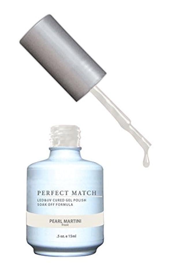 拡散する大クラックLECHAT Perfect Match Nail Polish, Pearl Martini, 0.500 Ounce