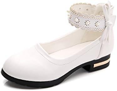 queena wheeler fille sandales toddler filles kaka robe en plates cuir chaussures plates en ballet de strass, mary jane 896974