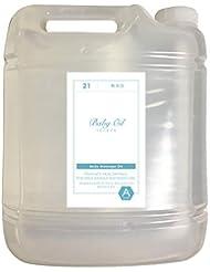 無添加ベビーオイル(無香料)業務用サイズマッサージオイル 5L
