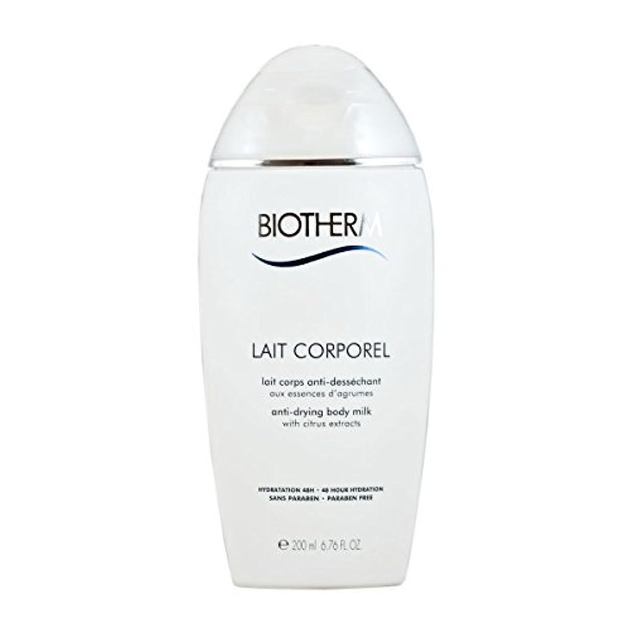 プランテーション縫うハングBiotherm Lait Corporel Anti-Drying Body Milk 6.76 Ounce [並行輸入品]