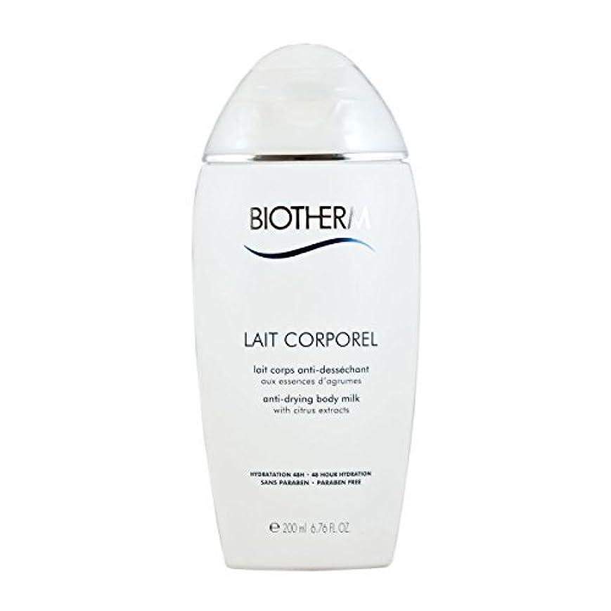 無一文キャップ活気づけるBiotherm Lait Corporel Anti-Drying Body Milk 6.76 Ounce [並行輸入品]