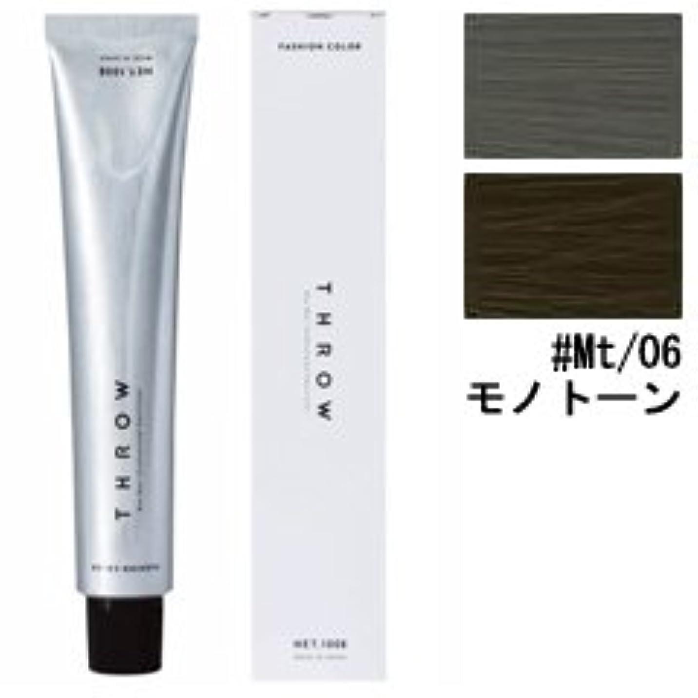 理容室賃金ルーチン【モルトベーネ】スロウ ファッションカラー #Mt/06 モノトーン 100g