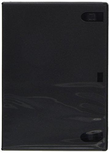 エレコム トールケース DVD BD 対応 標準サイズ 1枚収納 5個セット CCD-DVD02BK