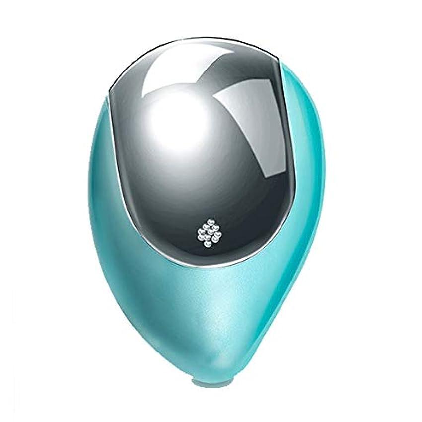 名前を作る作りますおっと理髪ツール マイナスイオンエアクッション帯電防止ヘッド磁気療法マッサージワイヤレスポータブル電気くし (Color : Green)