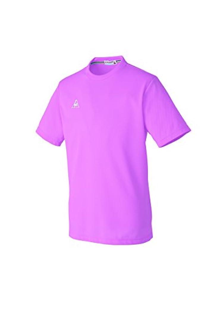 含意蜂調整する介護ユニフォーム Tシャツ 男女兼用 ルコック ピンク サイズ:L UZL3016-9